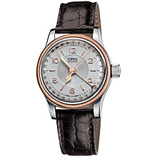Buy Oris 01 594 7695 4361-07 5 14 52 Men's Big Crown Original Pointer Date Leather Strap Watch Online at johnlewis.com