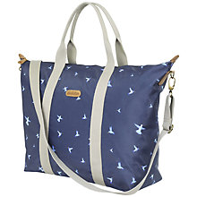 Buy Brakeburn Hummingbird Night Holdall, Navy Online at johnlewis.com