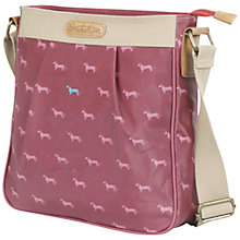 Buy Brakeburn Sausage Dog Crossbody Bag, Burgundy Online at johnlewis.com