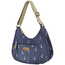 Buy Brakeburn Anchors Hobo Bag, Navy Online at johnlewis.com