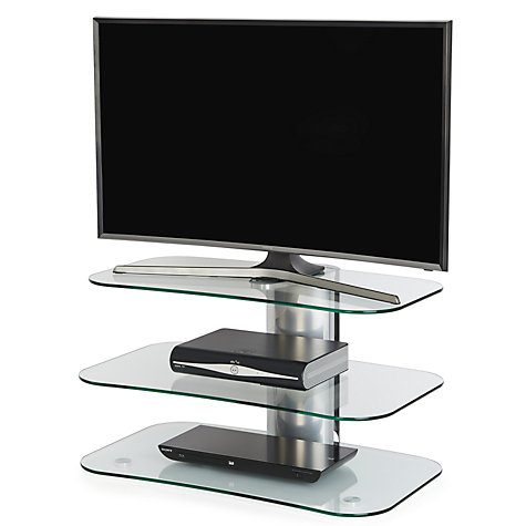 Buy Off The Wall Skyline ARC800 Silver TV Stand For Curved