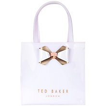 Buy Ted Baker Peticon Small Bow Trim Shopper Bag Online at johnlewis.com