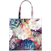 Buy Ted Baker Blucon Bloom Large Icon Shopper Bag, Black Online at johnlewis.com
