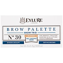 Buy Eylure Brow Palette Brow Trio Online at johnlewis.com