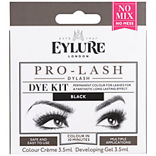 Buy Eyelure Pro-lash Dylash Dye Kit, Black Online at johnlewis.com