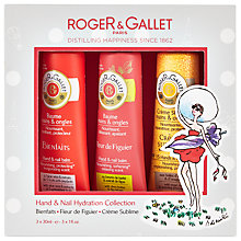 Buy Roger & Gallet Spring Hand & Nail Hydration Set, 3 x 30ml Online at johnlewis.com