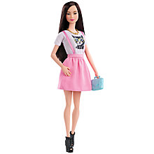 Buy Barbie Fashionistas Doll, Pink Dress Online at johnlewis.com