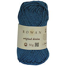 Buy Rowan Original Denim DK Cotton Mix Yarn, 50g Online at johnlewis.com
