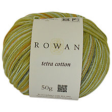 Buy Rowan Tetra Cotton DK Yarn, 50g, Garda 008 Online at johnlewis.com