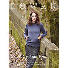 Buy Rowan Easy Aran Knits by Martin Storey Knitting Pattern Book ZB178 Online at johnlewis.com