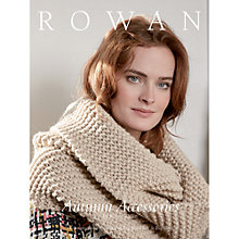 Buy Rowan Autumn Accessories by Marie Wallin Knitting Pattern Book ZB181 Online at johnlewis.com
