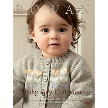 Buy Rowan Baby 4 Ply Collection Knitting Pattern Book ZB186 Online at johnlewis.com