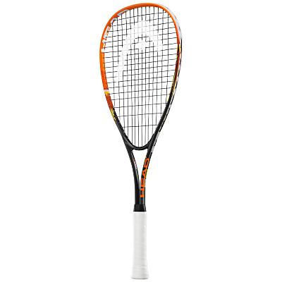 Head Xenon TI Junior Squash Racquet, Black/Orange