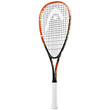 Buy Head Xenon TI Junior Squash Racquet, Black/Orange Online at johnlewis.com