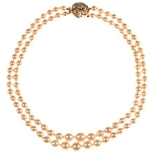 Buy Alice Joseph Vintage 1950s Vendome Gold Plated Faux Pearl Necklace, Gold Online at johnlewis.com