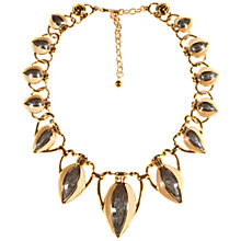 Buy Alice Joseph Vintage Trifari Gold Plated Enamel Necklace, Gold Online at johnlewis.com