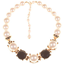 Buy Alice Joseph Vintage Marvella Pearl Glass Stone Necklace, Pearl Online at johnlewis.com