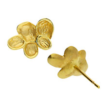 Buy London Road 9ct Gold Kew Earrings, Gold Online at johnlewis.com