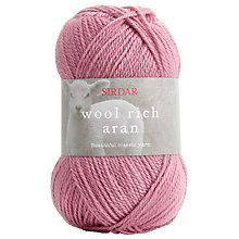 Buy Sirdar Wool Rich Aran Yarn, 100g Online at johnlewis.com