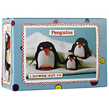 Buy Buttonbag Penguins Craft Kit Online at johnlewis.com