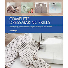 Buy Complete Dressmaking Skills by Lorna Knight Book Online at johnlewis.com
