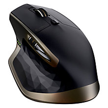 Buy Logitech MX Master Wireless Mouse, Black Online at johnlewis.com