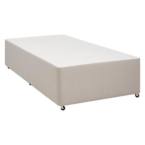 buy john lewis non sprung divan base pebble single