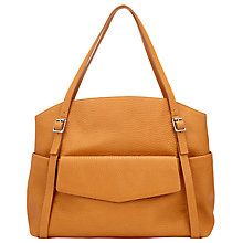 Buy Collection WEEKEND by John Lewis Lana North/South Pocket Tote, Tan Online at johnlewis.com