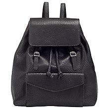Buy Collection WEEKEND by John Lewis Lana Backpack, Black Online at johnlewis.com