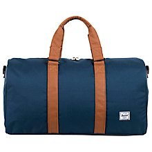 Buy Herschel Ravine Duffle Holdall, Navy Online at johnlewis.com