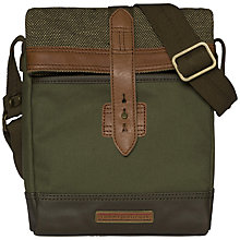 Buy Tommy Hilfiger Ivan Reporter Bag, Olive Online at johnlewis.com