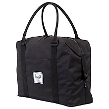 "Buy Herschel Supply Co. Strand Plus 15"" Laptop Holdall, Black Online at johnlewis.com"