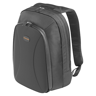Fedon1919 Techpack 13 Laptop Backpack Black