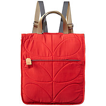 Buy Orla Kiely Stem Little Owl Quilted Reversible Backpack Online at johnlewis.com