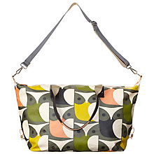 Buy Orla Kiely Big Owl Print Laminate Zip Holdall, Multi Online at johnlewis.com