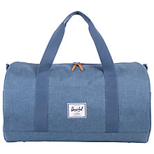 Buy Herschel Sutton Crosshatch Holdall, Navy Online at johnlewis.com