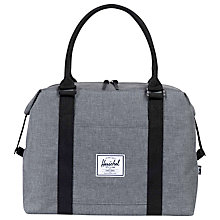 Buy Herschel Supply Co. Strand Holdall, Charcoal Online at johnlewis.com