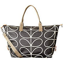 Buy Orla Kiely Giant Linear Stem Print Laminate Holdall Online at johnlewis.com