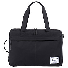 Buy Herschel Supply Co. Bowen Travel Duffle Bag, Black Online at johnlewis.com