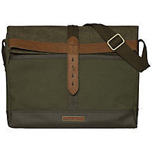 Buy Tommy Hilfiger Ivan Messenger Bag, Olive Online at johnlewis.com