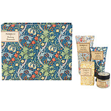 Buy Heathcote & Ivory Morris & Co Golden Lily Bathing Essentials Online at johnlewis.com