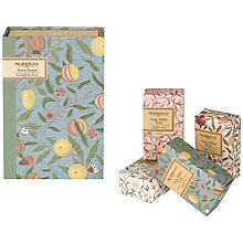 Buy Heathcote & Ivory Morris & Co Guest Soaps, 4 x 50g Online at johnlewis.com