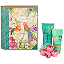 Buy Heathcote & Ivory Rainforest Explorer's Journal Bath and Body Set Online at johnlewis.com