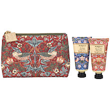 Buy Heathcote & Ivory Morris & Co Strawberry Thief Bath and Body Bag Online at johnlewis.com
