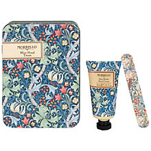 Buy Heathcote & Ivory Morris & Co Golden Lily Mini Hand Set in Tin Online at johnlewis.com