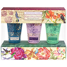 Buy Heathcote & Ivory Rainforest Mixed Hand Creams, 3 x 30ml Online at johnlewis.com