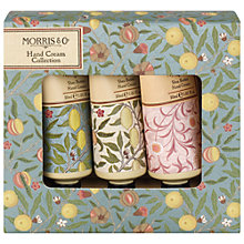 Buy Heathcote & Ivory Morris & Co Hand Cream Collection, 3 x 30ml Online at johnlewis.com