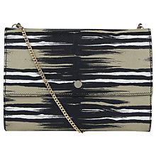 Buy Whistles Lizard Chain Clutch Online at johnlewis.com