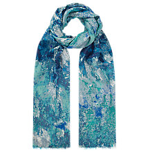 Buy Whistles Bodega Print Scarf, Multi/Blue Online at johnlewis.com