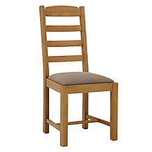 Buy John Lewis Pendleton Upholstered Dining Chair Online at johnlewis.com